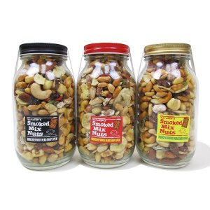 "【MUNCHIE FOODS】SMOKED MIX NUTS ""LARGE BOTTLE"" (480g)"
