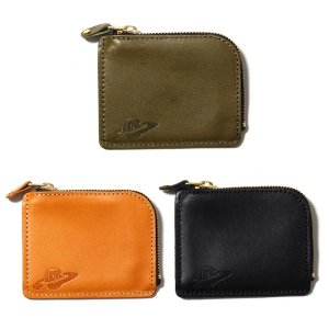 【IRIE by irielife】IRIE PLANET LEATHER COIN CASE / LAST BLACK