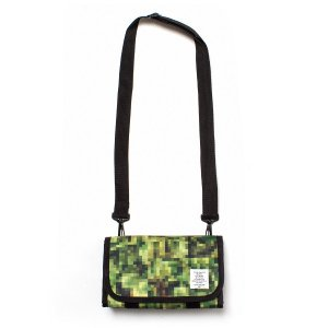 "【APPLEBUM】× CHOP ROLL SLOW BURN ""PIXEL"" MINI SHOULDER POUCH"