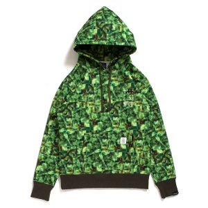 "【APPLEBUM】× CHOP ROLL SLOW BURN ""PIXEL"" SWEAT PARKA / LAST M"