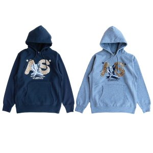 【ANDSUNS】AS TIGER PULLOVER / LAST BLACK M