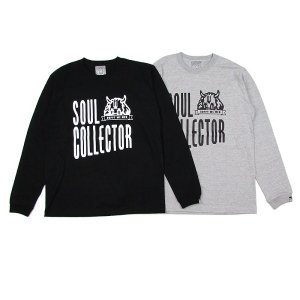"【DUPPIES】L/S TEE SHIRTS ""SOUL COLLECTOR"""