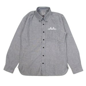 "【DUPPIES】L/S OXFORD SHIRTS ""RISING EAGLE"" / LAST L"