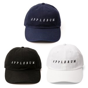 【APPLEBUM】LOGO COTTON CAP<img class='new_mark_img2' src='//img.shop-pro.jp/img/new/icons5.gif' style='border:none;display:inline;margin:0px;padding:0px;width:auto;' />