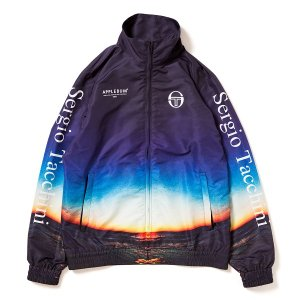"【APPLEBUM】×SERGIO TACCHINI ""SUMMER MADNESS"" TRACK JACKET"