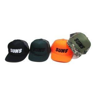 【ANDSUNS】SUNS MESH CAP / LAST NEON ORANGE