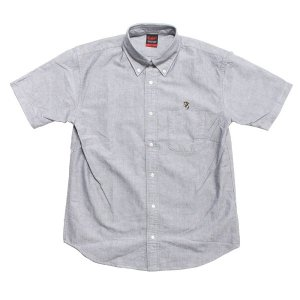 【MURAL】EMPEROR OXFORD S/S SHIRT