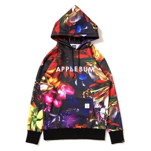 "【APPLEBUM】""FLOWER BLACK"" SWEAT PARKA<img class='new_mark_img2' src='//img.shop-pro.jp/img/new/icons5.gif' style='border:none;display:inline;margin:0px;padding:0px;width:auto;' />"