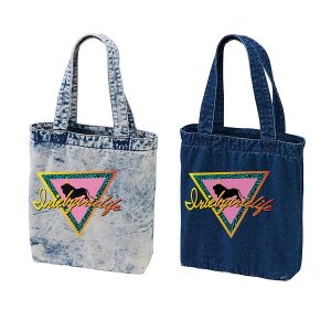 【IRIE by irielife】TRIANGLE LION DENIM TOTE BAG -IRIE for GIRL-