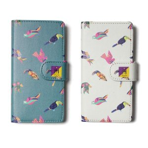 【Tome2H】MEXICAN BIRD PHONE CASE / iPhone6/6s,7,8 / LAST EMERALD