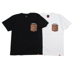 【MURAL】LEAVES POCKET T-SHIRT