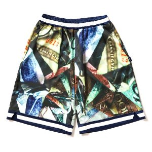 "【APPLEBUM】""DIRTY MONEY"" BASKETBALL PANTS<img class='new_mark_img2' src='//img.shop-pro.jp/img/new/icons5.gif' style='border:none;display:inline;margin:0px;padding:0px;width:auto;' />"