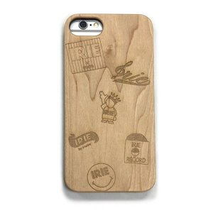 【IRIE by irielife】IRIE MULTI LOGO WOOD iPhone CASE