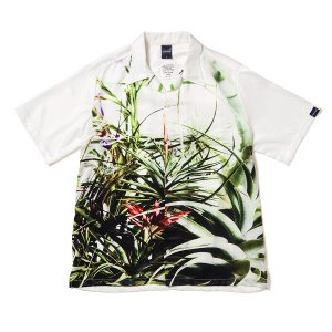 "【APPLEBUM】""FLOWER WHITE"" ALOHA SHIRT / LAST WHITE XL"