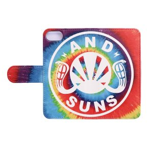【ANDSUNS】TIE DYE LOGO IPHONE BOOK / iPhone6/6s,7,8