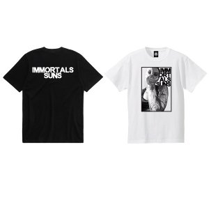 【ANDSUNS】IMMORTALS TEE / LAST WHITE XL