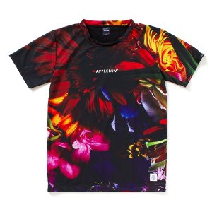 "【APPLEBUM】""FLOWER BLACK"" T-SHIRT<img class='new_mark_img2' src='//img.shop-pro.jp/img/new/icons5.gif' style='border:none;display:inline;margin:0px;padding:0px;width:auto;' />"