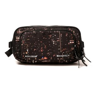 "【APPLEBUM】APPLEBUM×MAKAVELIC ""BABYLON VIEW"" WAISTBAG"