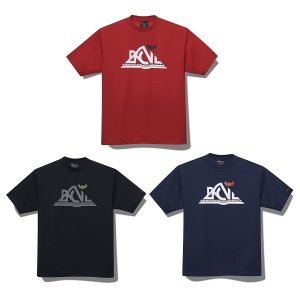 【Back Channel】OUTDOOR LOGO T / LAST RED M