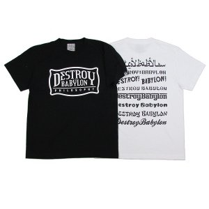 "【DUPPIES】S/S TEE SHIRTS ""DEMONSTRATION"" / BLACK M"