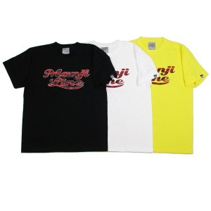 "【DUPPIES】S/S TEE SHIRTS ""MANJI-LINE"" / LAST WHITE XL"
