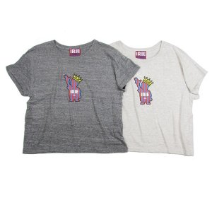 【IRIE by irielife】POW KING GIRL TEE -IRIE for GIRL-