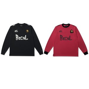 【Back Channel】FOOTBALL L/S T / LAST RED M