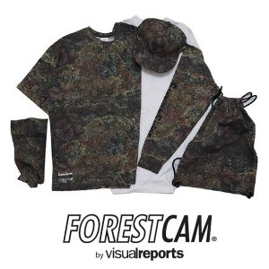 "【visualreports】×SUNNY C SIDER ""FORESTCAM CAPSULE COLLECTION"" / LAST L  1SETのみ"