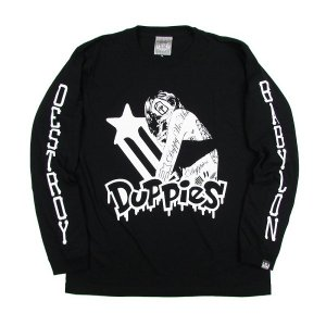 "【DUPPIES】LONG SLEEVE TEE SHIRTS ""GOT INK"" / LAST L"
