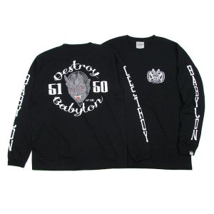 "【DUPPIES】LONG SLEEVE TEE SHIRTS ""NO EVIL"" / LAST XL"