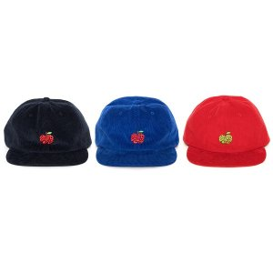 "【APPLEBUM】""APPLE"" CORDUROY SNAPBACK CAP"