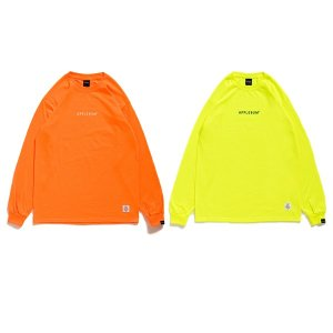 【APPLEBUM】NEON L/S T-SHIRT / LAST YELLOW M