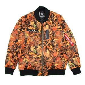 【MURAL】LIGHT MA-1 JACKET -CAMO- / LAST M