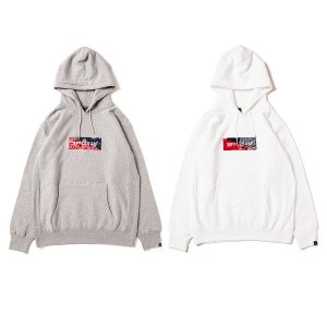 【APPLEBUM】BANDANNA BOX SWEAT PARKA