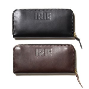 【IRIE by irielife】IRIE LEATHER LONG WALLET / LAST BLACK
