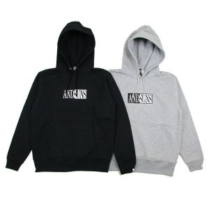 【ANDSUNS】OPPOSITE COLOR PULLOVER / LAST BLACK XL
