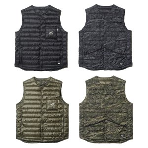 【Back Channel】BACKCHANNEL×NANGA REVERSIBLE DOWN VEST