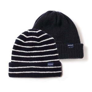 【APPLEBUM】REVERSIBLE KNIT CAP