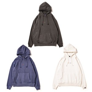 【APPLEBUM】RAINBOW LOGO PIGMENT SWEAT PARKA
