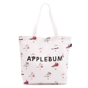 "【APPLEBUM】""ワルモノ見参"" CANVAS TOTEBAG"