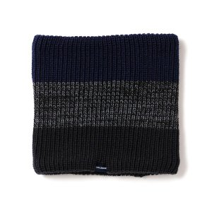 【APPLEBUM】BORDER NECK WARMER
