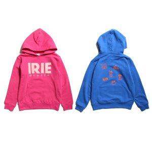 【IRIE by irielife】IRIE MULTI LOGO KIDS HOODIE -IRIE KIDS- / LAST BLUE 130