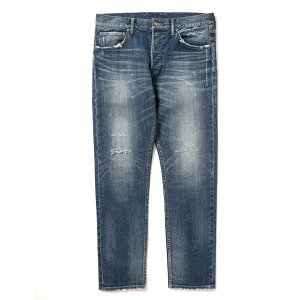 "【APPLEBUM】""KATE"" SLIM STRETCH DENIM PANTS (DAMAGE) / LAST 36"