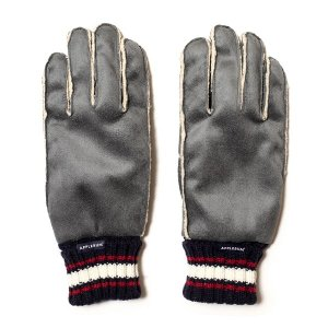 【APPLEBUM】SYNTHETIC SUEDE GLOVE