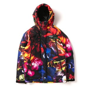 "【APPLEBUM】""FLOWER BLACK"" INNERCOTTON HOOD JACKET<img class='new_mark_img2' src='//img.shop-pro.jp/img/new/icons5.gif' style='border:none;display:inline;margin:0px;padding:0px;width:auto;' />"