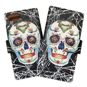 "【studio murasaki】iPhone CASE ""SKULL"" / iPhone6/7/8/,PLUS,X<img class='new_mark_img2' src='//img.shop-pro.jp/img/new/icons5.gif' style='border:none;display:inline;margin:0px;padding:0px;width:auto;' />"