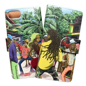 "【studio murasaki】iPhone CASE ""JAMAICA"" / iPhone6/7/8/,PLUS,X"