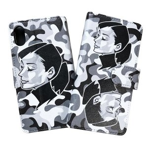 "【studio murasaki】iPhone CASE ""ANN"" BLACK CAMO / iPhone6/7/8/,PLUS,X"
