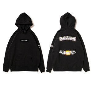 【APPLEBUM】PLAY for APPLEBUM BLACK MAMBA SWEAT PARKA / LAST BLACK XL