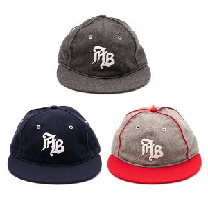 "【APPLEBUM】""AB"" OLD TIME BALL CAP / LAST GRAY"